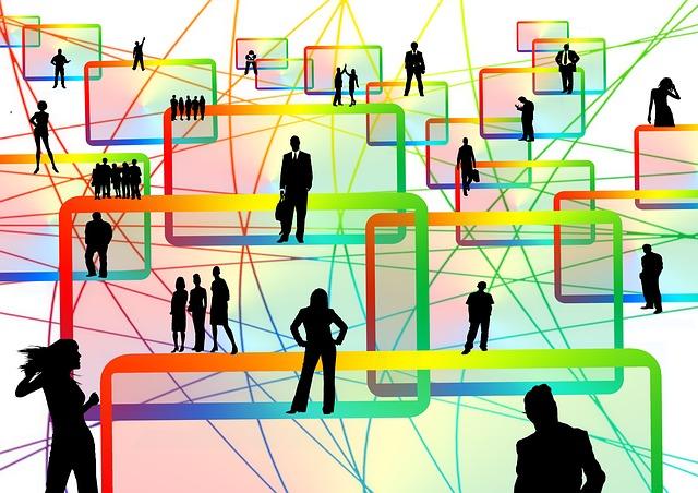 lidé na síti