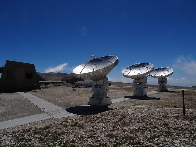 Soustava radioteleskopů