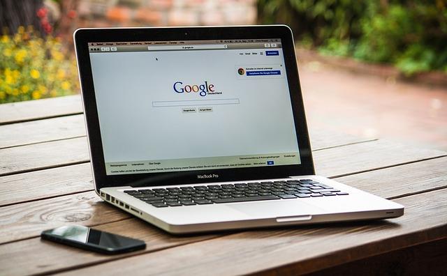 nejpoužívanější prohledávač Google