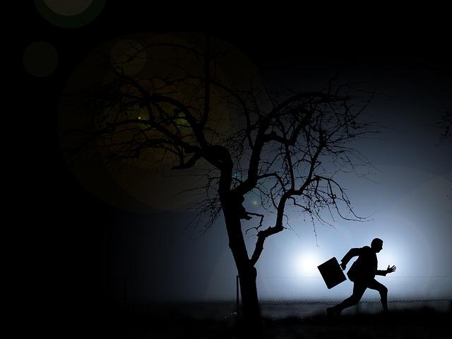 noční útěk